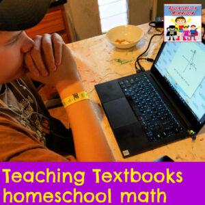 Teaching Textbooks homeschool math curriculum