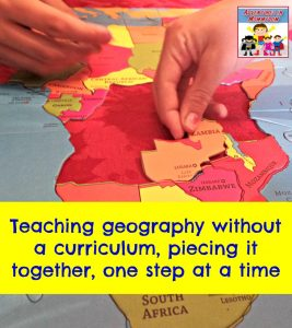 Teaching geography without a curriculum
