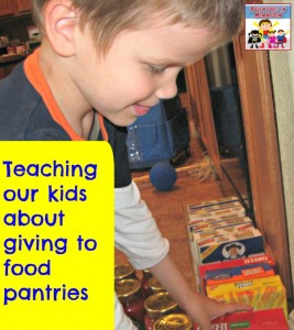 Teaching your kids about giving