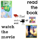 The BFG book and a movie feature copy