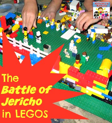 The Battle of Jericho in Legos