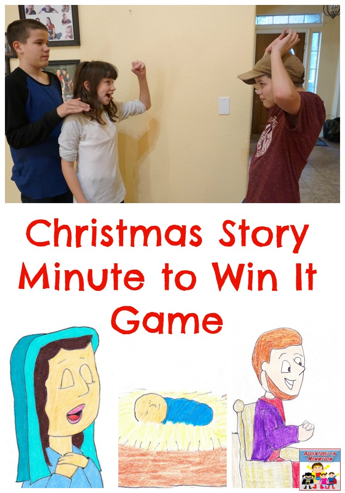 The Christmas Story minute to win it game