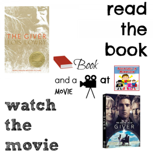 The Giver book and a movie feature 5th