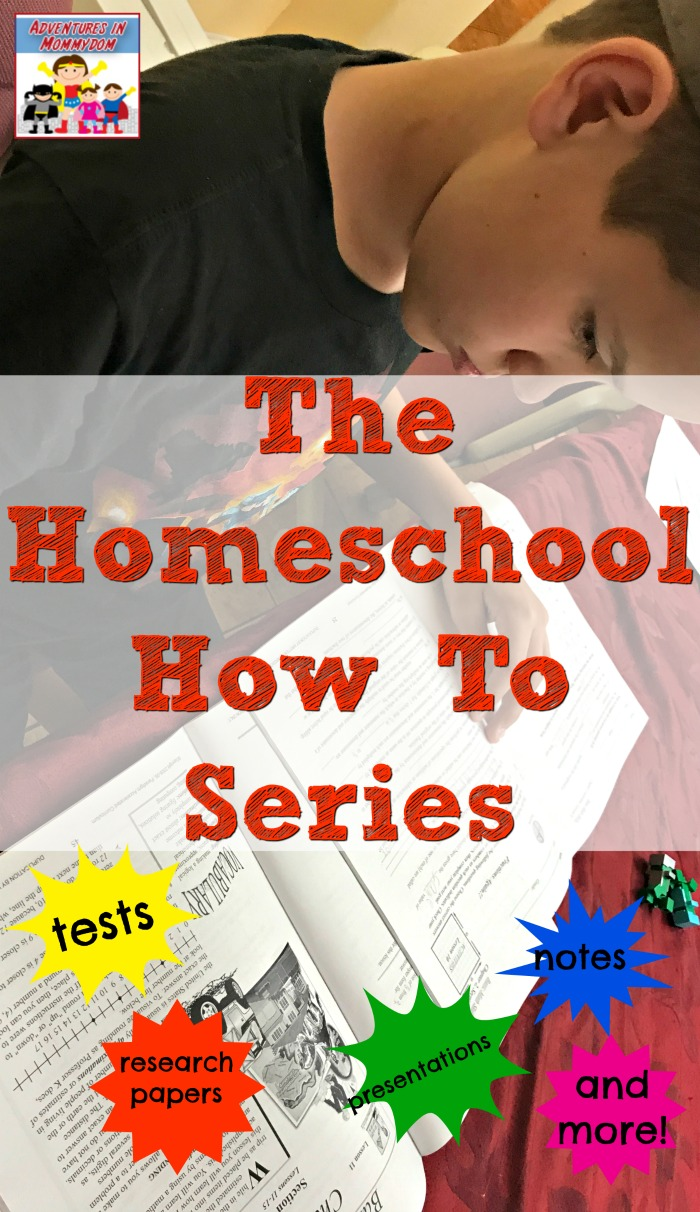The Homeschool How To Series