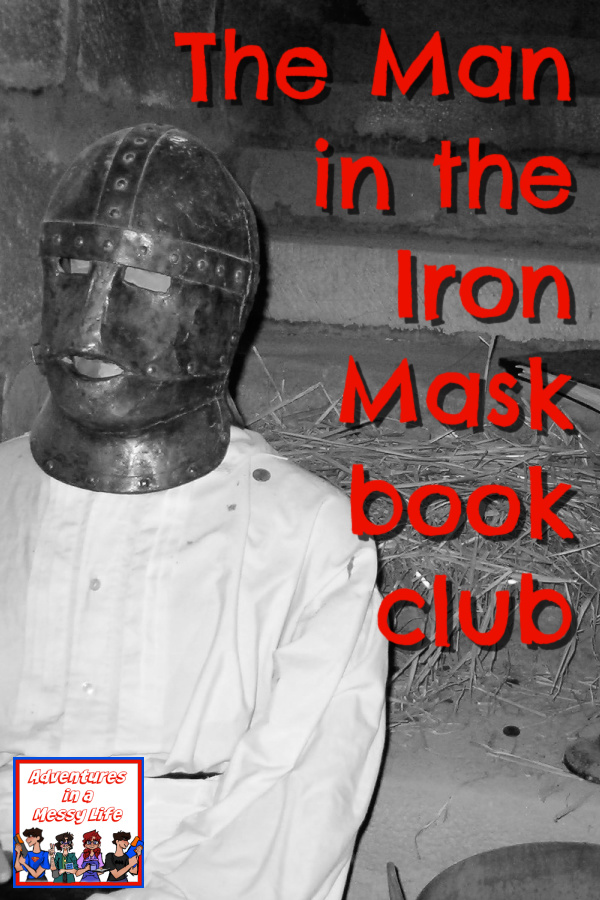 The Man in the Iron Mask book club for high school