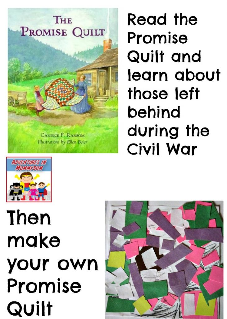The Promise Quilt Civil War activity