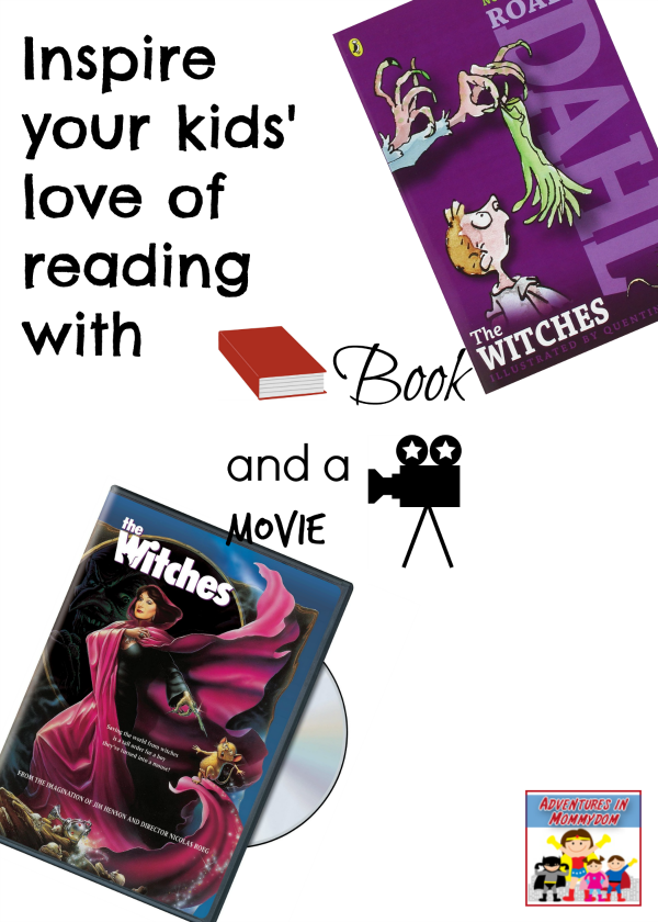 The Witches by Roald Dahl book and a movie