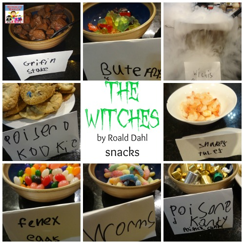 The Witches by Roald Dahl movie night