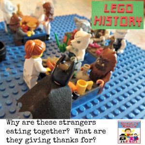 The first Thanksgiving lesson told in Legos