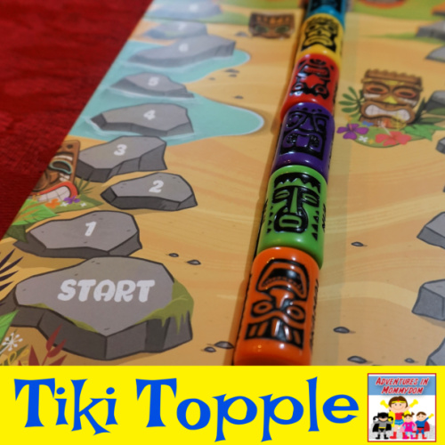 The great game of Tiki Topple board game
