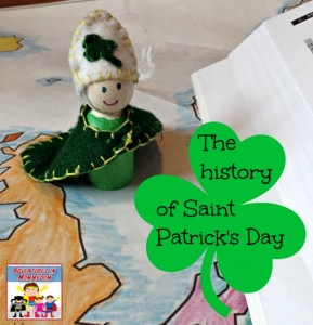 history of saint patricks day