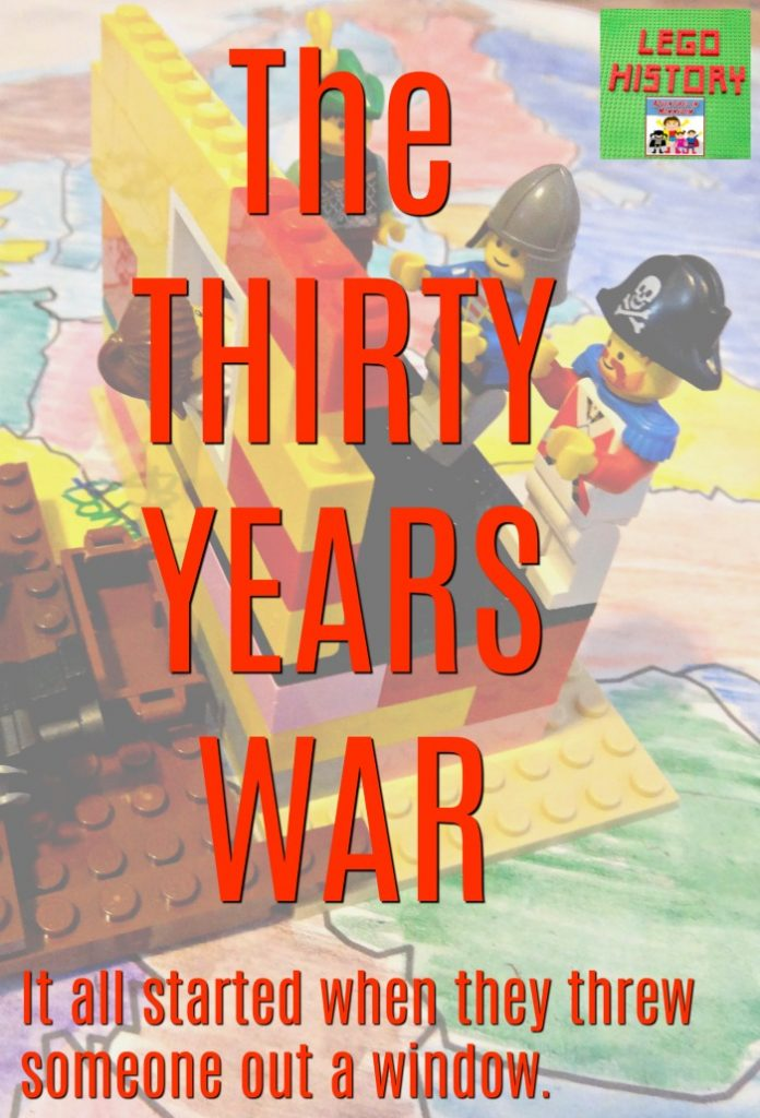 Thirty Years war lego history lessons