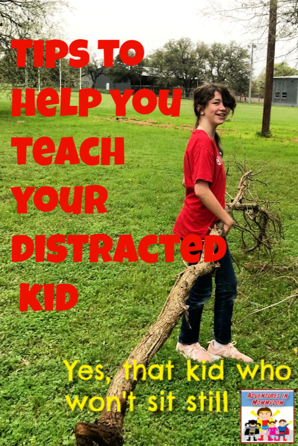 Tips to teach distractible kids