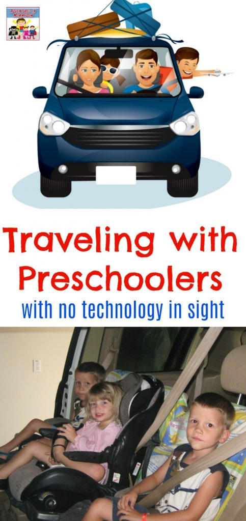 How to travel with preschoolers