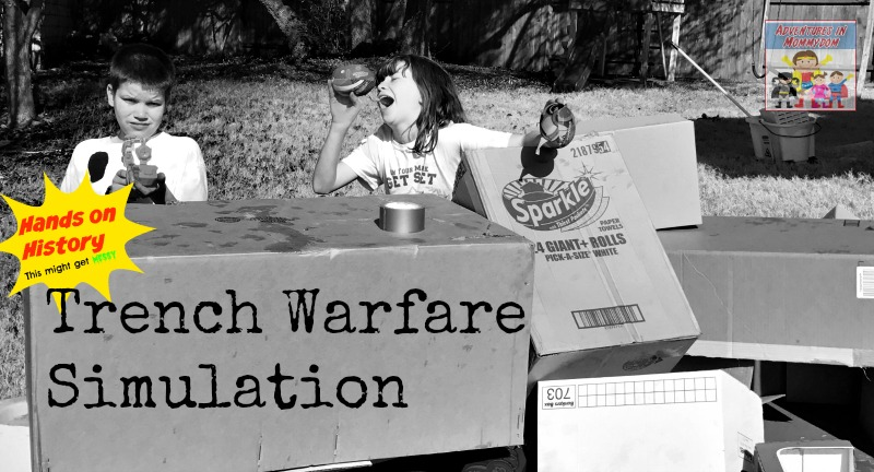 Trench Warfare simulation world war 1