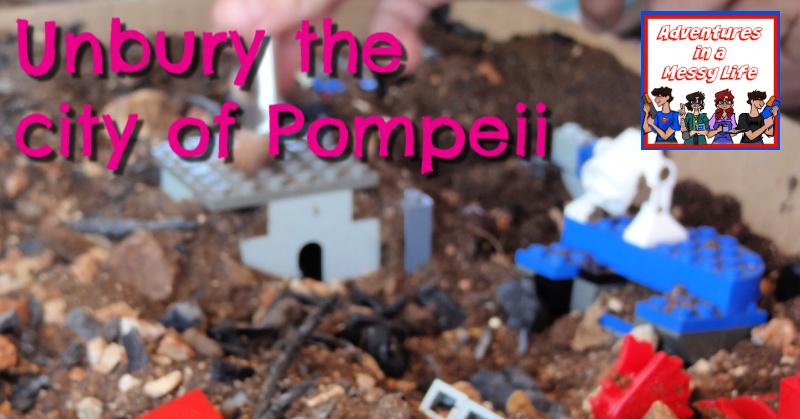 Unbury the city of Pompeii history lesson