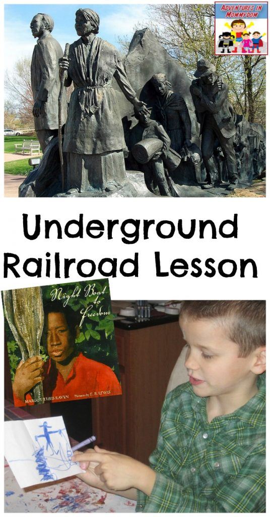 Underground Railroad lesson as part of Kentucky state study