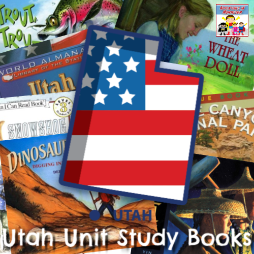Utah unit 50 states study geography book list