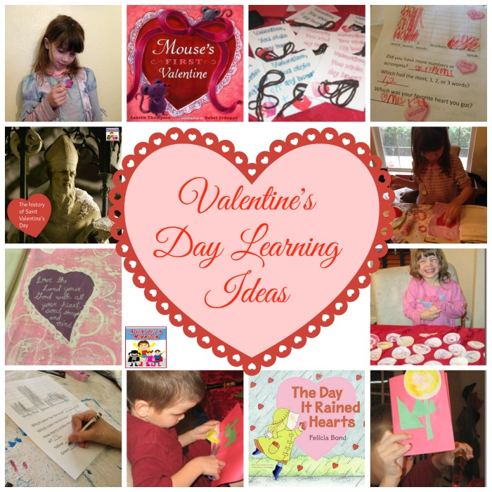 Valentine's Day Learning Ideas