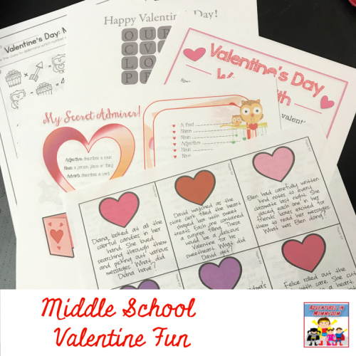10 middle school valentine 39 s day activities. Black Bedroom Furniture Sets. Home Design Ideas