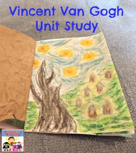 Vincent VanGogh unit study