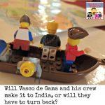Vasco de Gama sick at cape