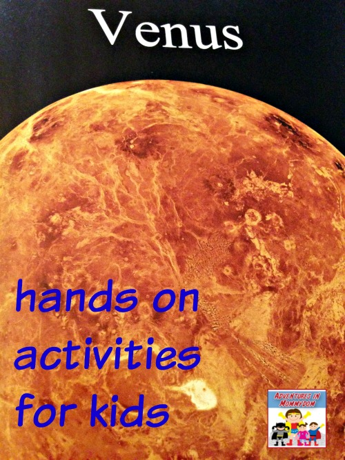 Venus activities for kids