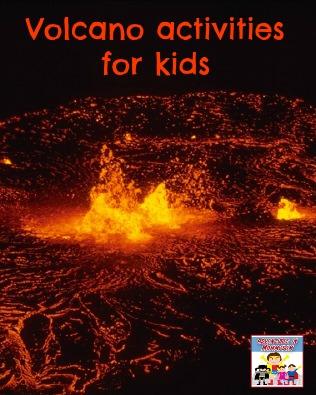 volcano activities for kids