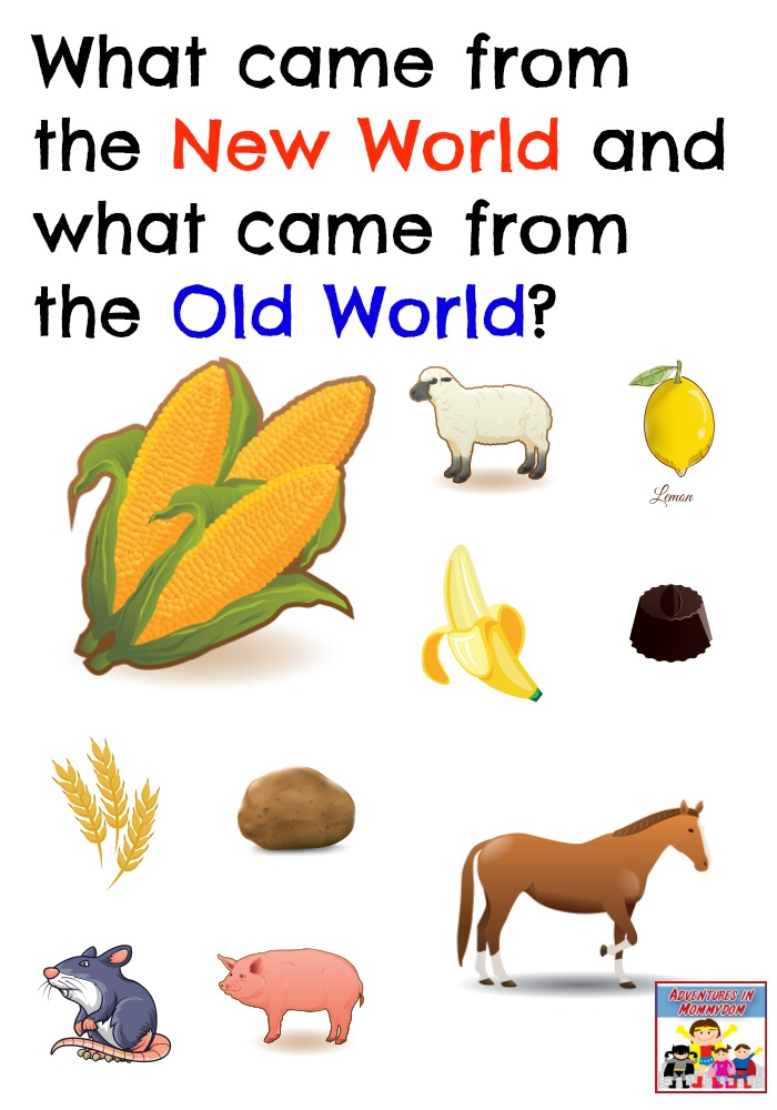 What is the Great Columbian Exchange?