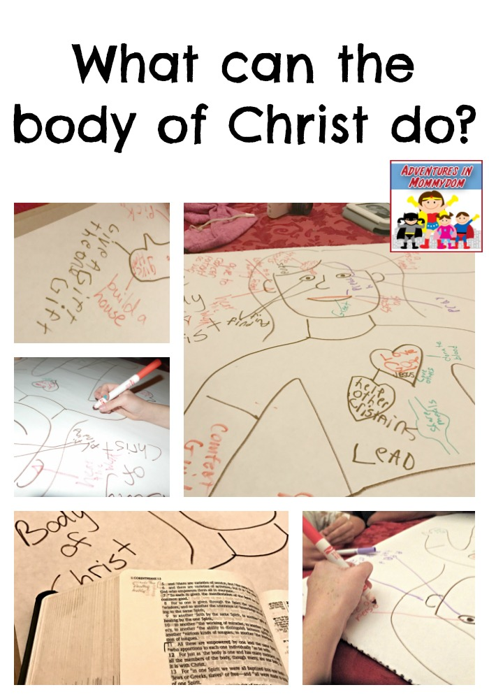 What can the body of Christ do to serve others