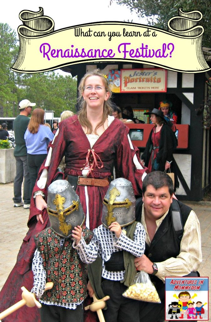 What can you learn at a Renaissance Festival