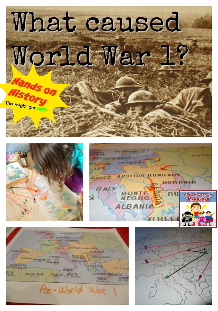 What caused World War 1