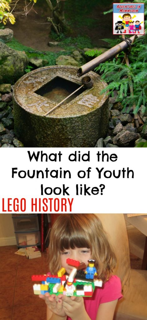 What did the Fountain of Youth look like lego history lesson