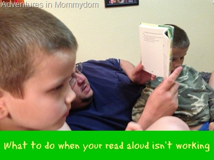 What to do when your read aloud isn't working