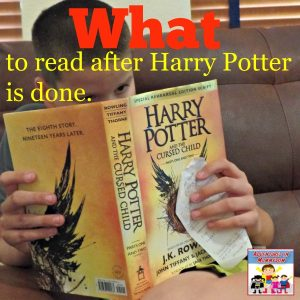 Your kids have finished reading Harry Potter what now?