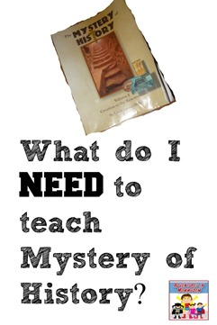 What do I need to teach Mystery of History