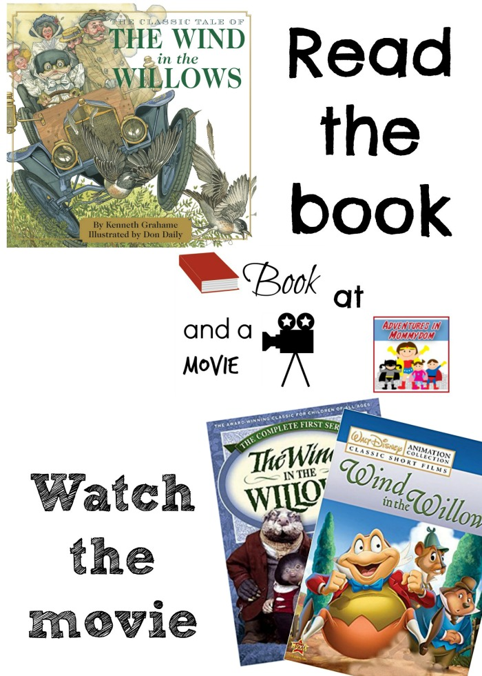 Wind in the Willows book and a movie