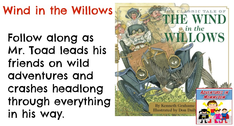 Wind in the Willows book description