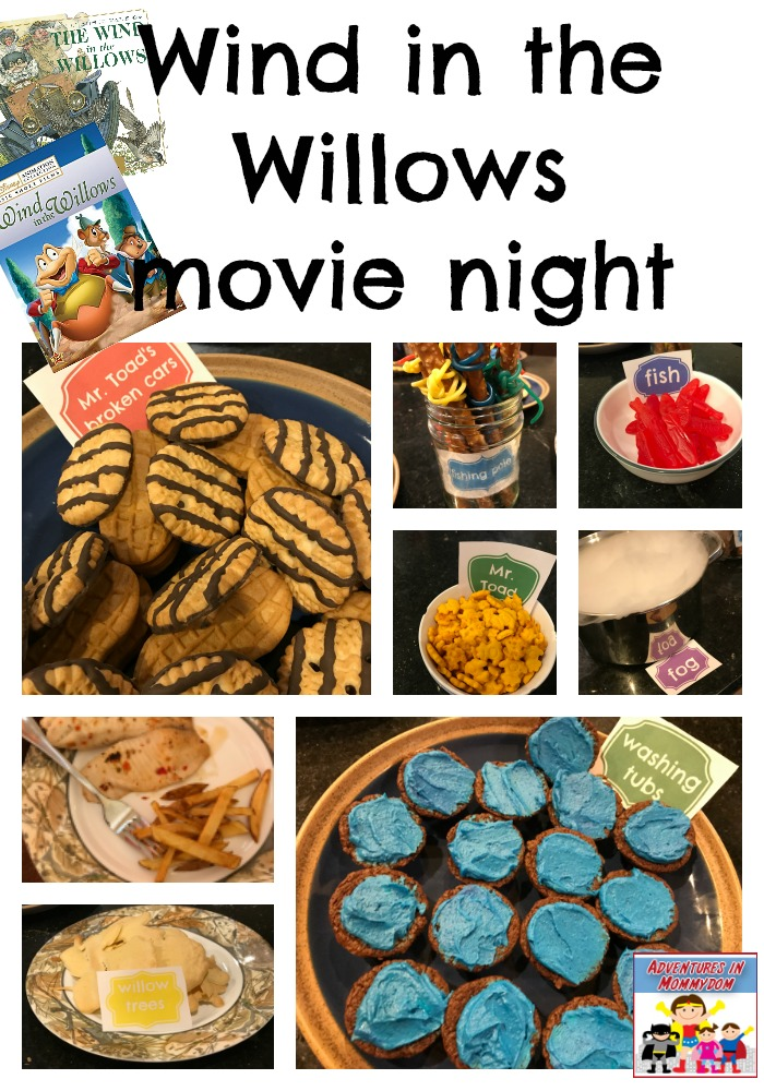 Wind in the Willows movie night