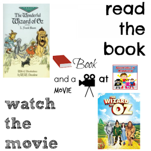 Wizard of Oz book and a movie feature 6th