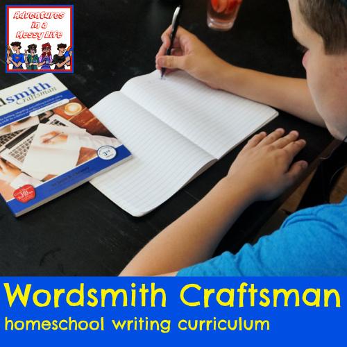 Wordsmith craftsman homeschool writing curriculum high school 9th 10th 11th 12th review