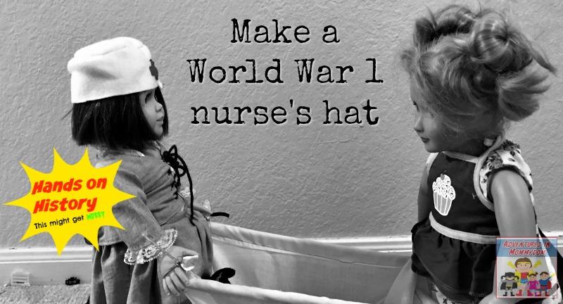 World War 1 nurse's hat