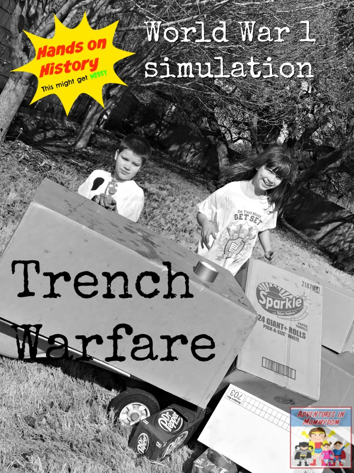 World War 1 simulation trench warfare