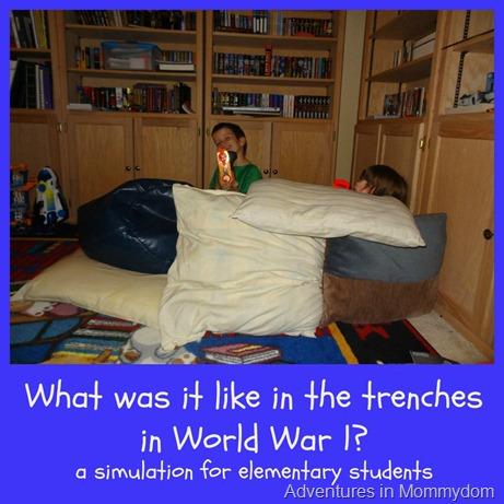 World War 1 trench warfare activity
