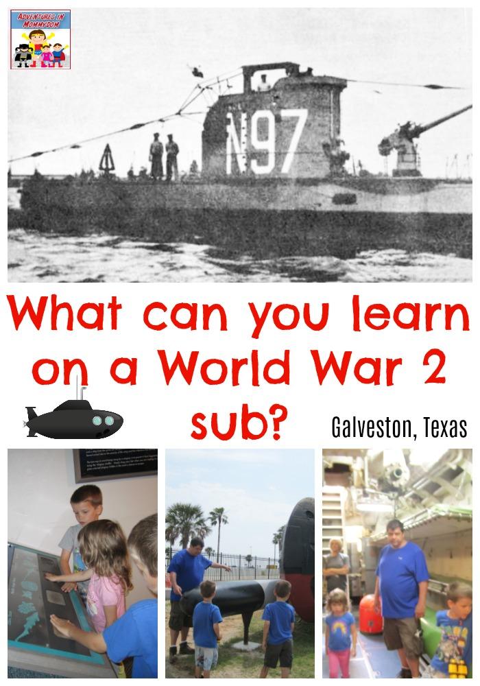 World War 2 sub field trip