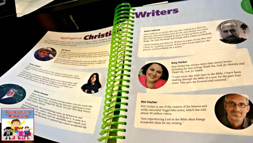 Writers in Residence Christian writers spotlight
