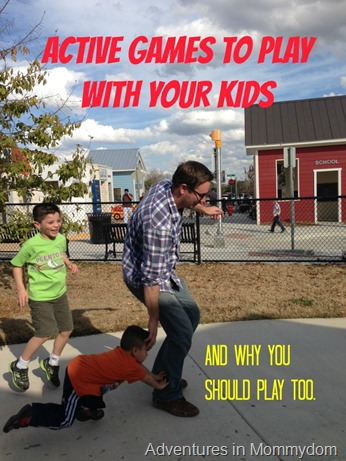 active games to play with your kids