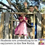 age of exploration pretend play for early elementary