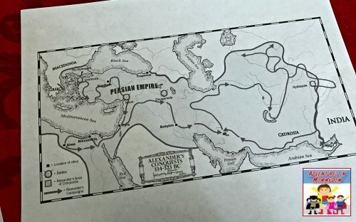 ancient history curriculum maps