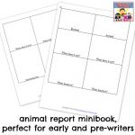 The BEST Animal Report for beginning writers